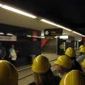 Tour durch den Untergrund