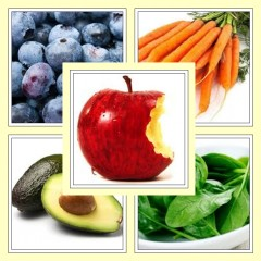Herzgesunde Lebensmittel: Esse Bunt