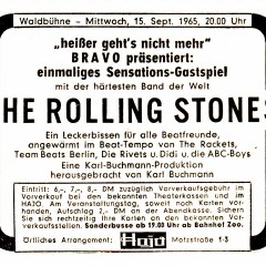 The Rolling Stones CountDown: Noch 80 Tage