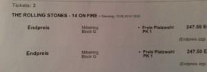 Tickets: Hab ich