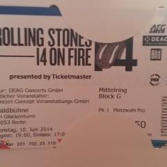 The Rolling Stones: Waldbühne Berlin Tickets? Hab ich!