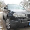 Abenteuer BMW X3 Status nach 348 km